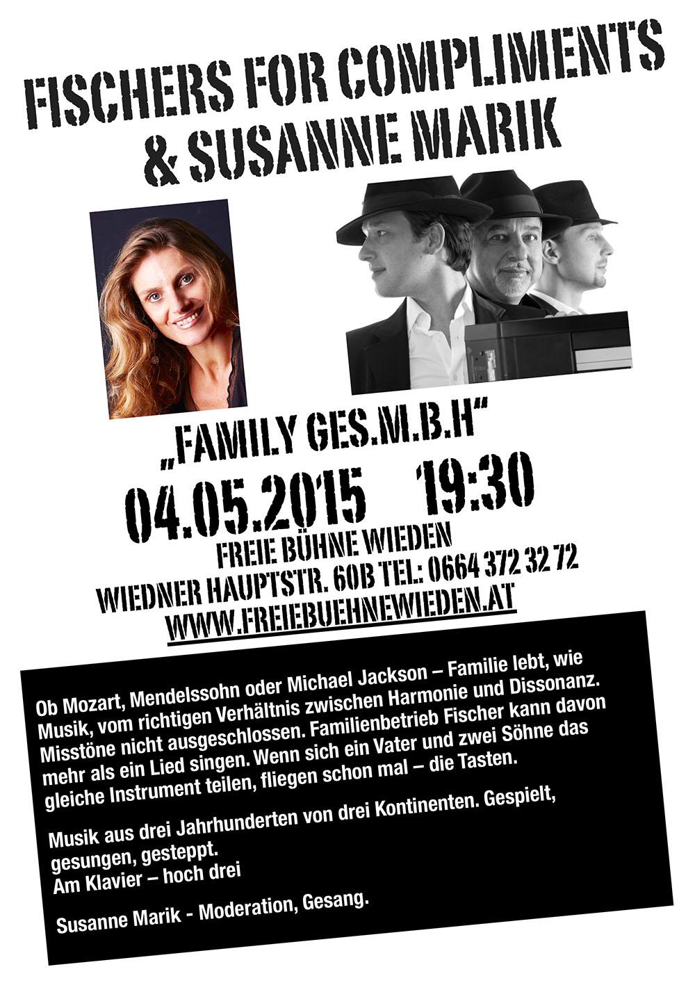 Fischer4Compliments & Susanne Plakat A4